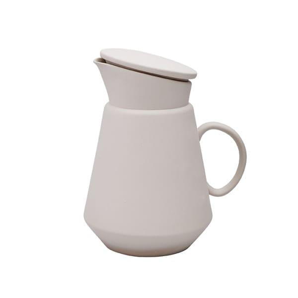 Hend Krichen Grey Ceramic Coffee Jug