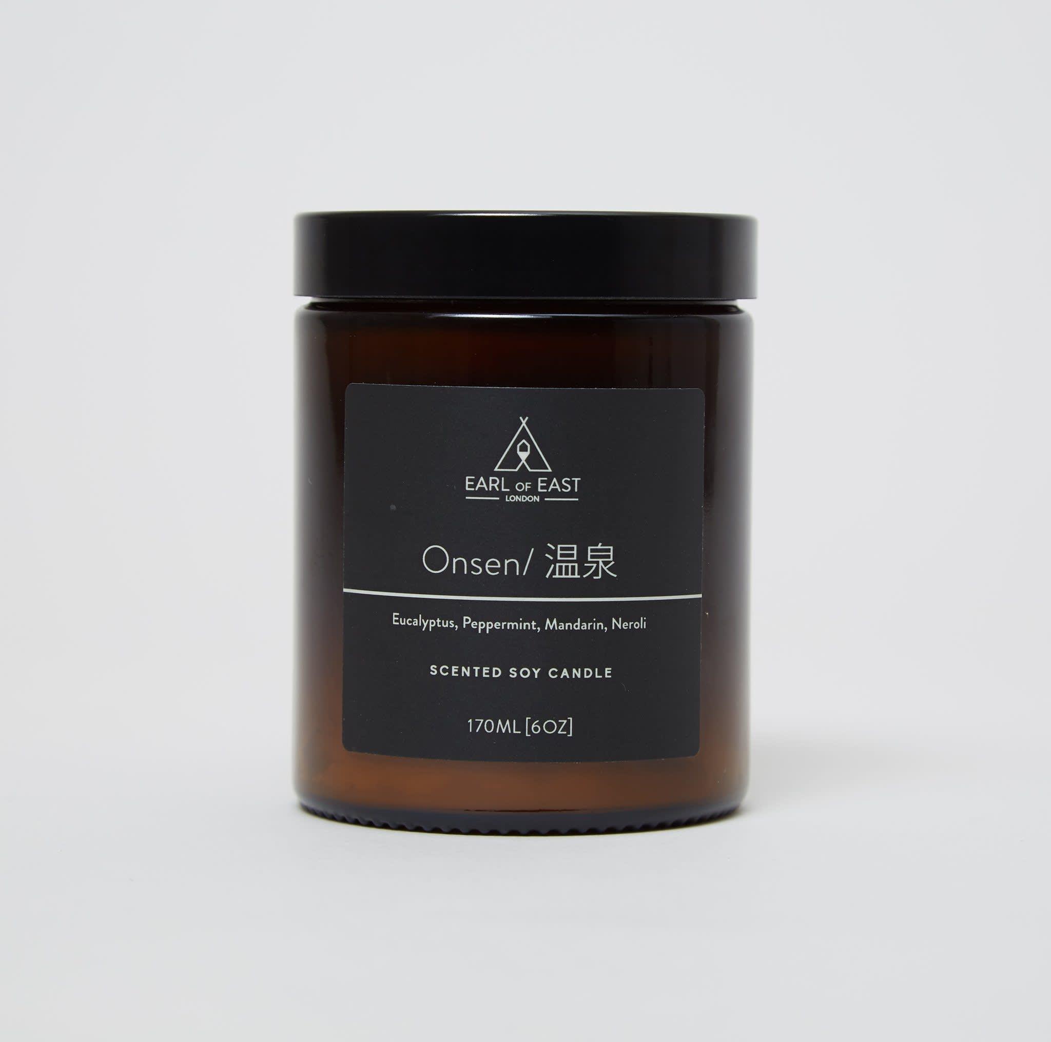 Earl of East London Medium Onsen Candle