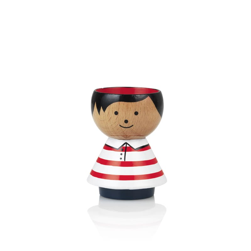 Lucie Kaas Red Striped T Shirt Bordfolk Egg Cup