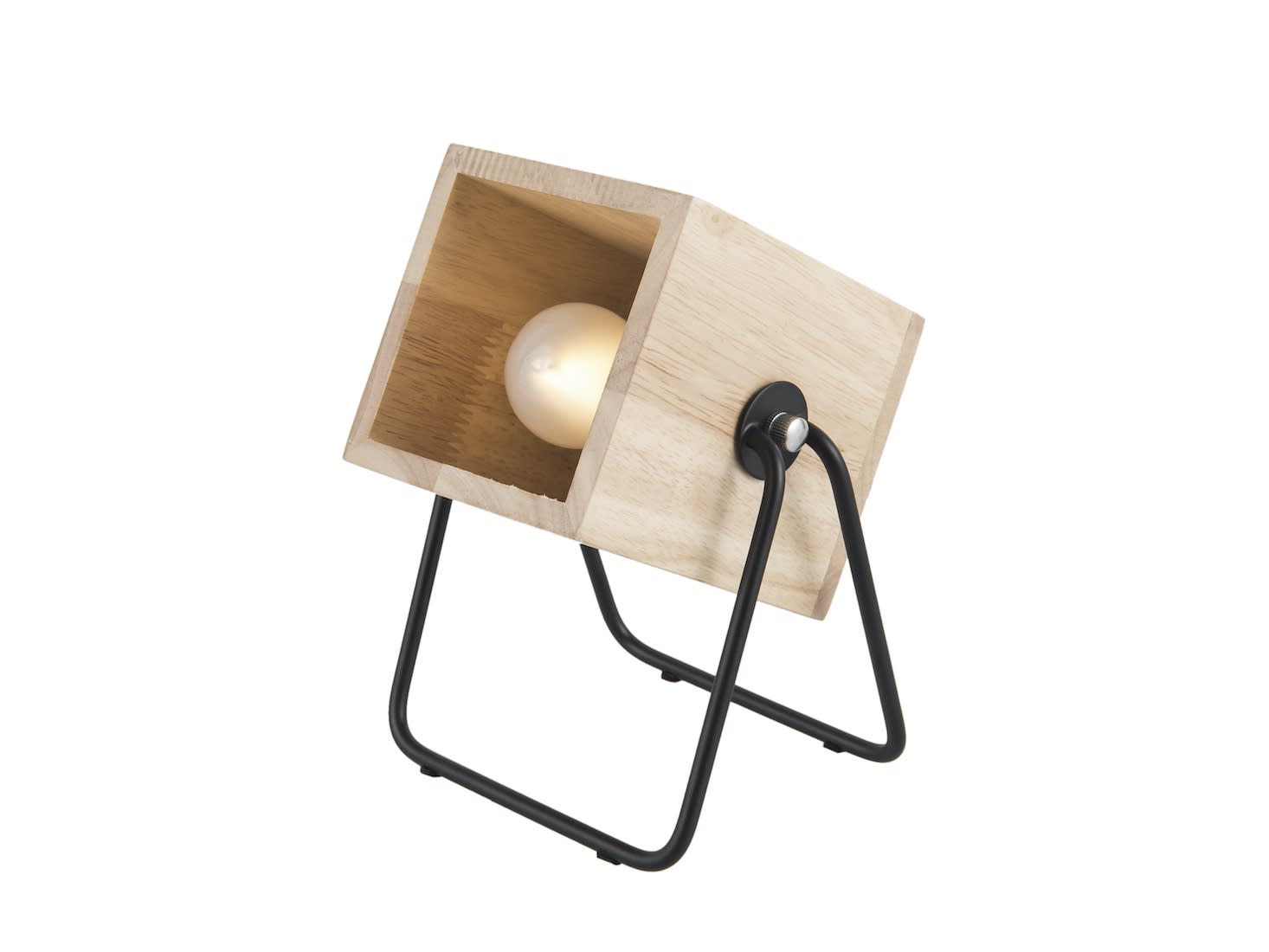 Leitmotiv Square Hefty Table Lamp