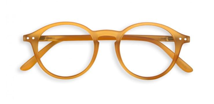 IZIPIZI Reading Glasses in Yellow Ochre (Frame Shape: #D)