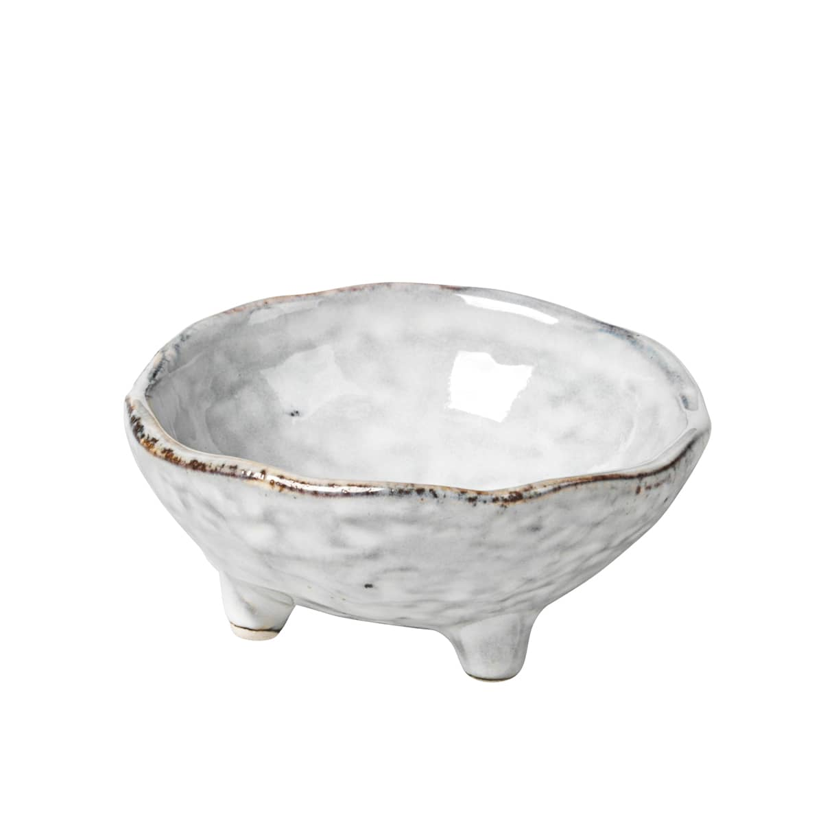 Broste Copenhagen Small Nordic Sand With Feet Bowl
