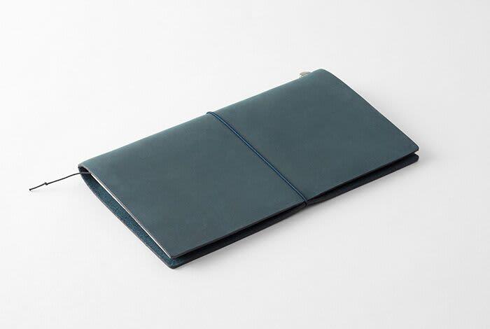 Traveler's Company Traveler's Notebook Blue Leather Regular Size
