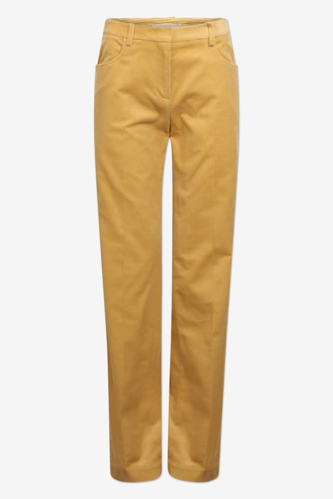 Baum und Pferdgarten Noya Lemon Yellow Cord Trousers