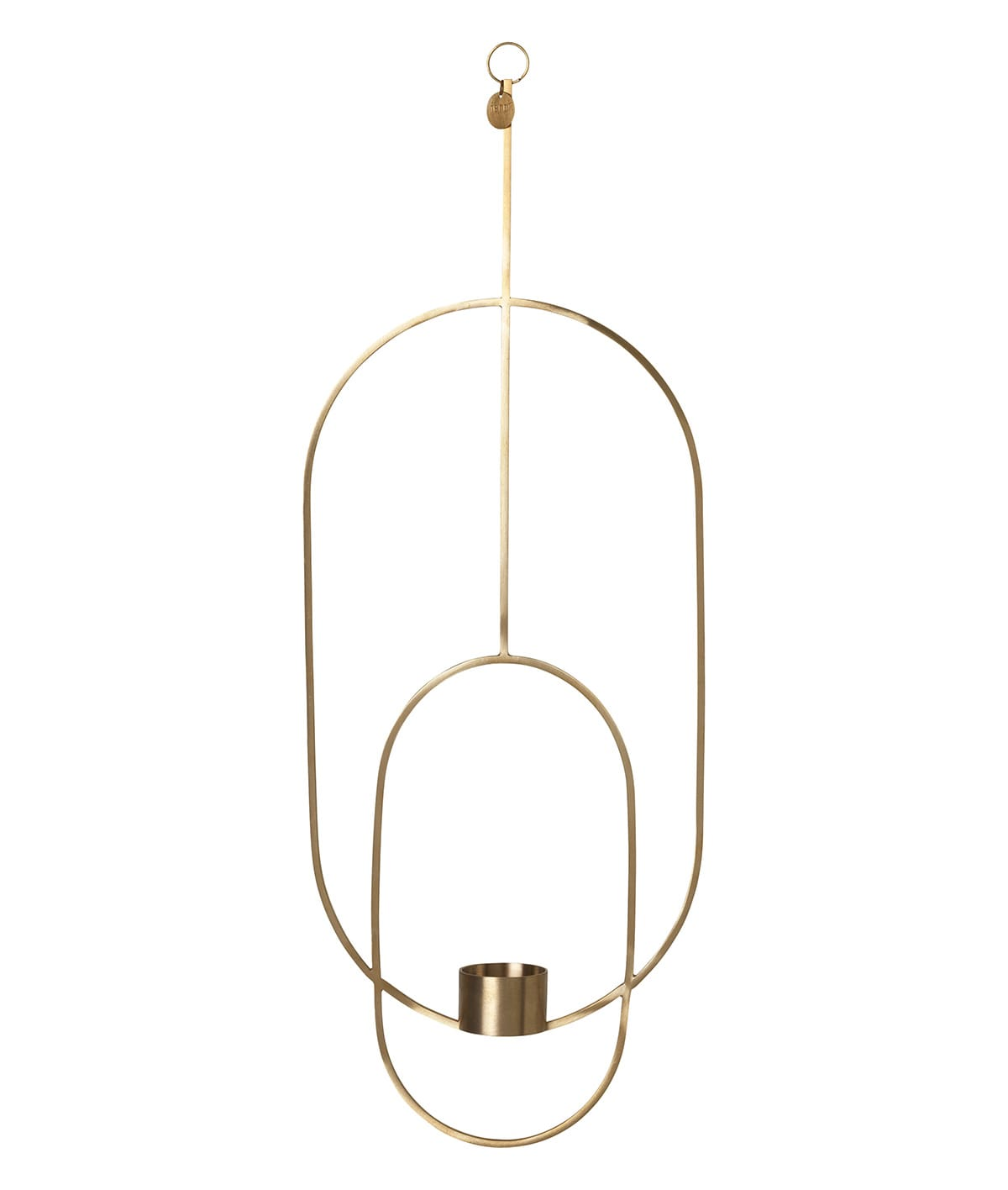 Ferm Living  Oval Hanging Deco Tealight Holder