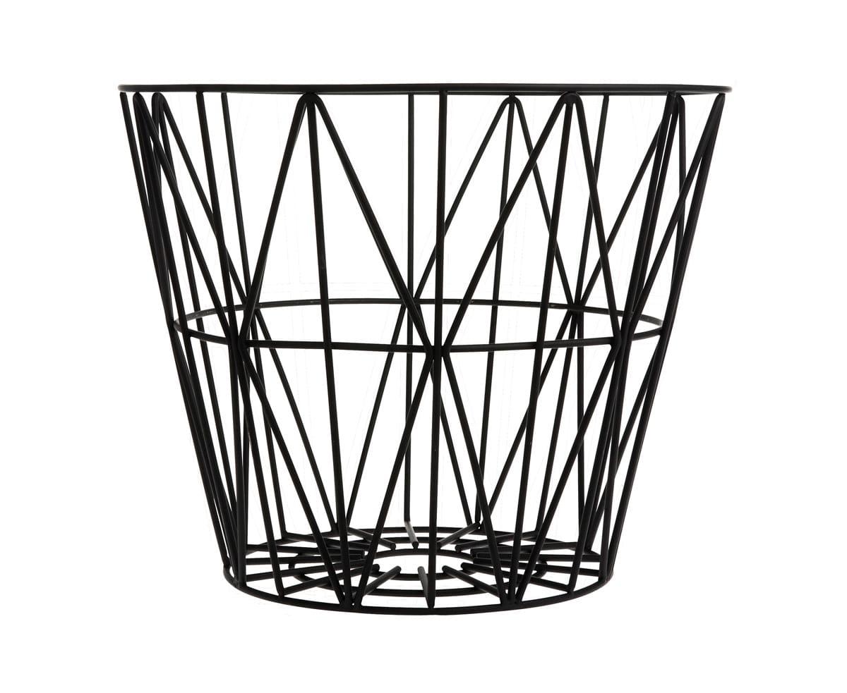 Ferm Living Black Medium Wire Basket