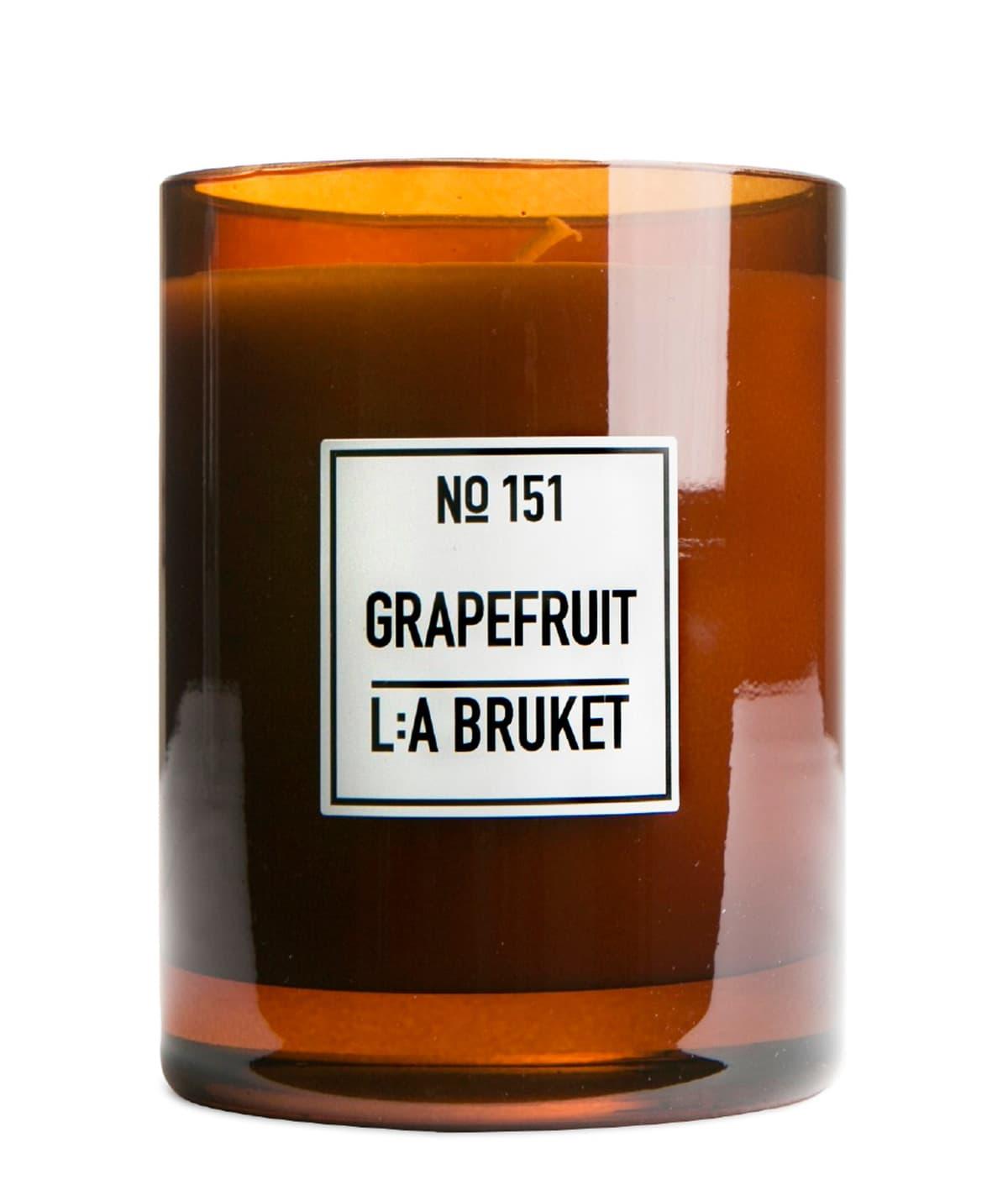 L:A Bruket Grapefruit Scented Candle