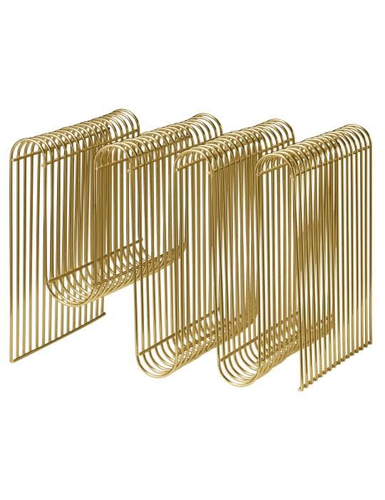 AYTM Gold Curva Magazine Holder