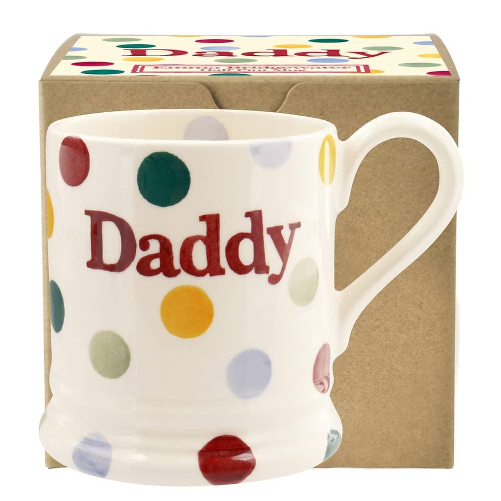 Emma Bridgewater Polka Dot Daddy Mug