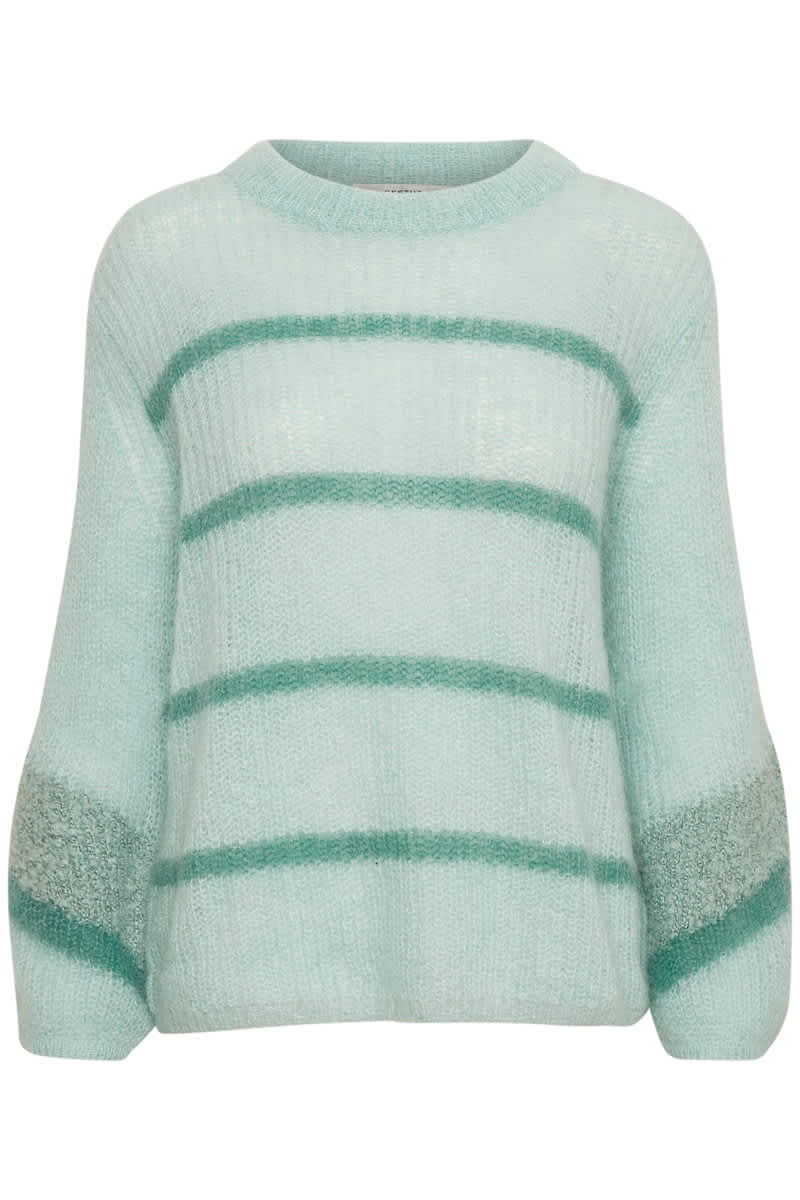 Gestuz  Abila Mint Green Pullover