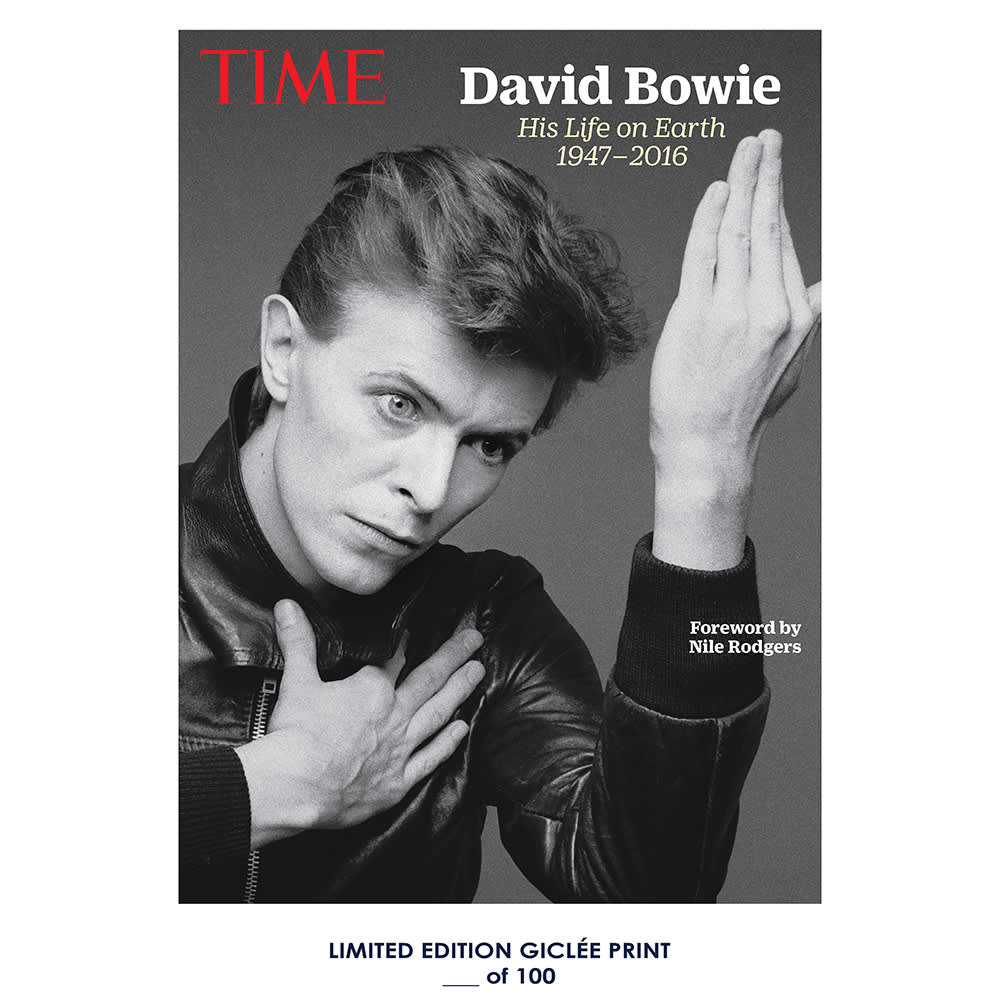 Giclee Art Prints David Bowie Time Magazine 1 Poster