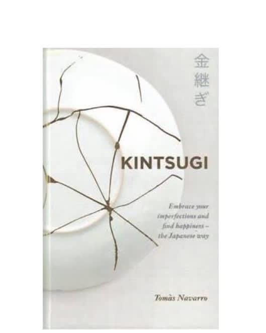 Yellow Kite Kintsugi Book