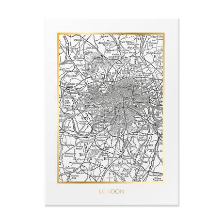 Trouva London Map Print
