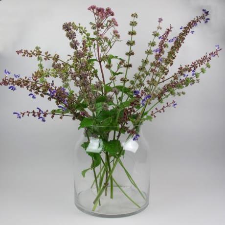 Trouva Serax Large Glass Belly Vase