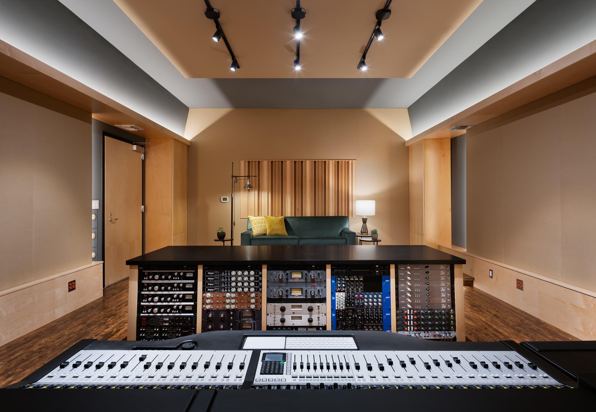 Nouveaux studios d'enregistrement !