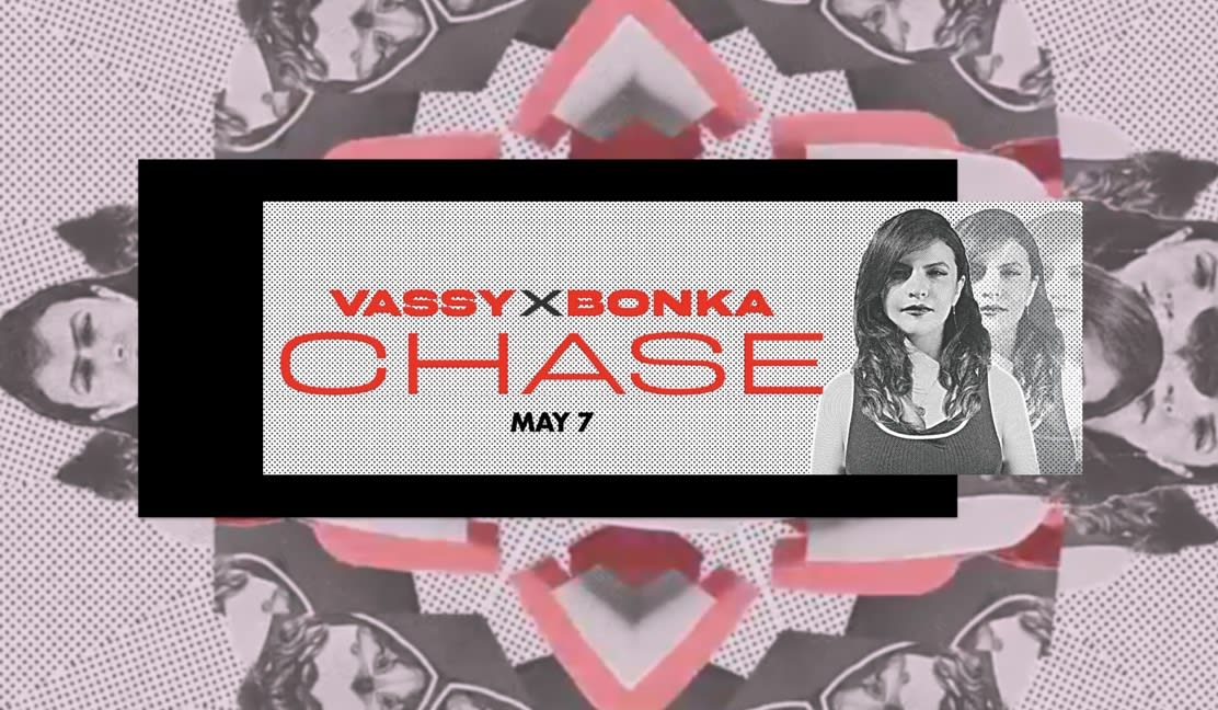 """VASSY's """"Chase"""" hits #16 on Dance Radio in the US & #2 on the Aria Club Charts in Australia"""