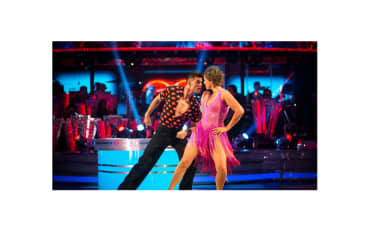 BBC Strictly Come Dancing Kate Silverton Aljaz Skorjanec