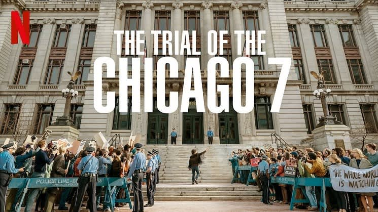"""""""Hear My Voice"""" from the Trial of the Chicago 7 nominated for Best Original Song at the 93rd Academy Awards"""
