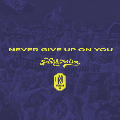 Never Give Up On You - Single