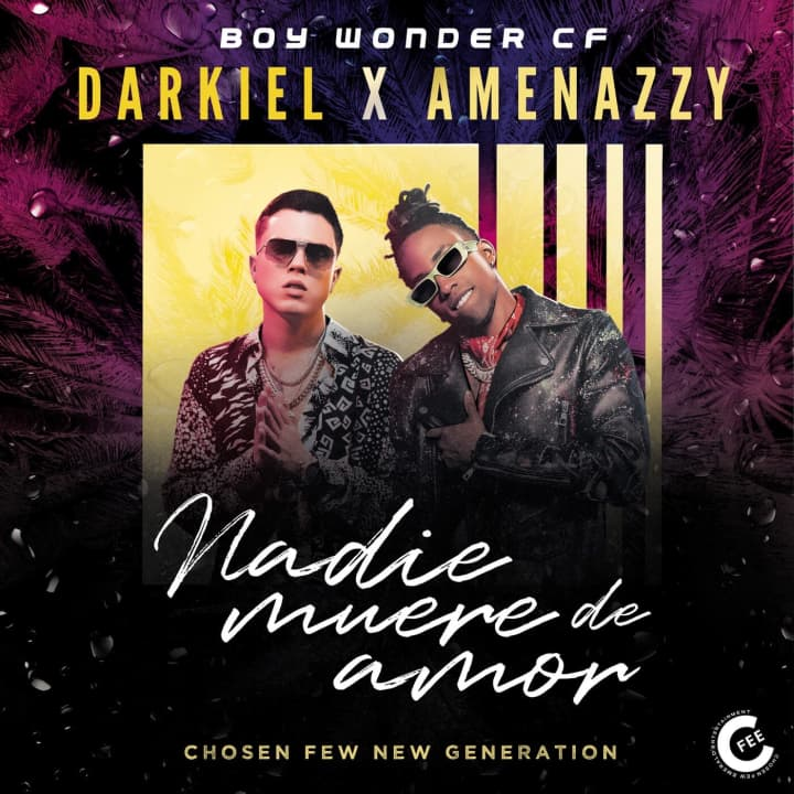 """Nadie Muere De Amor"" becomes the #1 National Latin Urban Song of the Week on Music Choice"