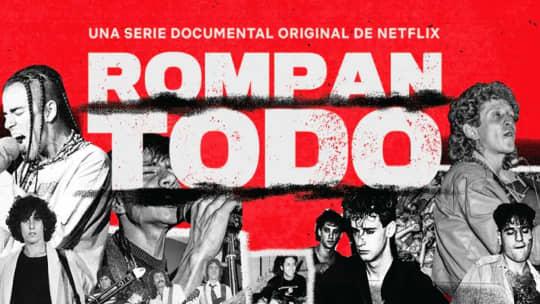 Netflix releases Latin rock documentary series Rompan Todo featuring peermusic artists
