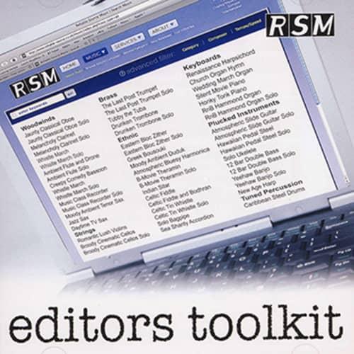 Editors Toolkit volume 1