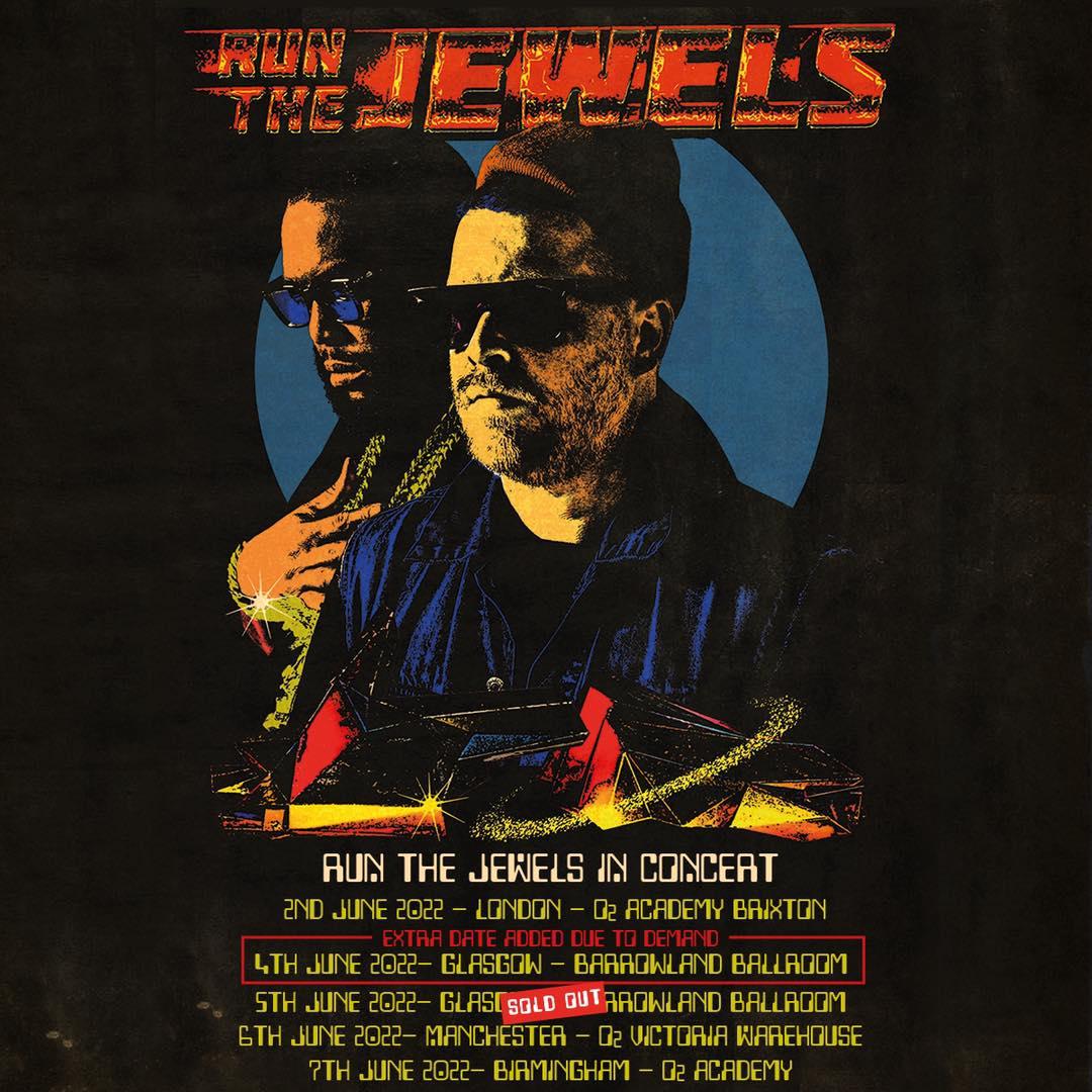 Run The Jewels to tour UK & Barcelona