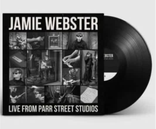 Jamie Webster releases live record from Parr Street Studios