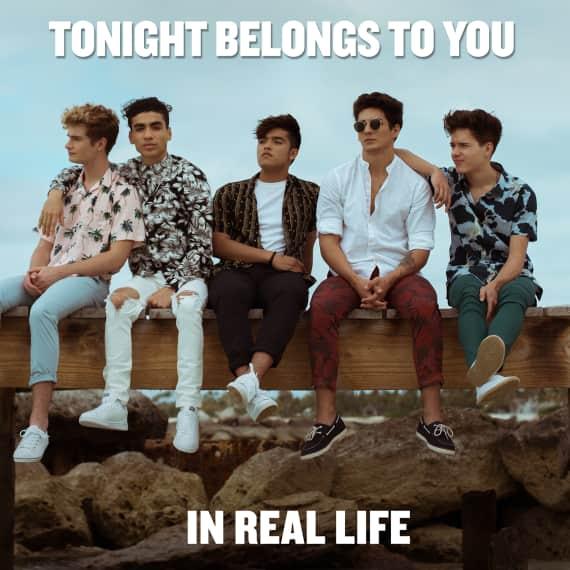 Tonight Belongs To You (instrumental)
