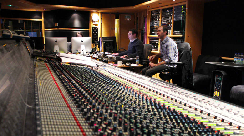 Recording at AIR Studios with Robert Bennett