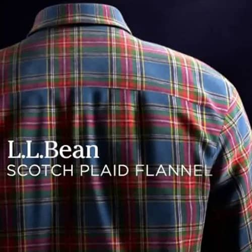 L.L.Bean: The Scotch Plaid Flannel