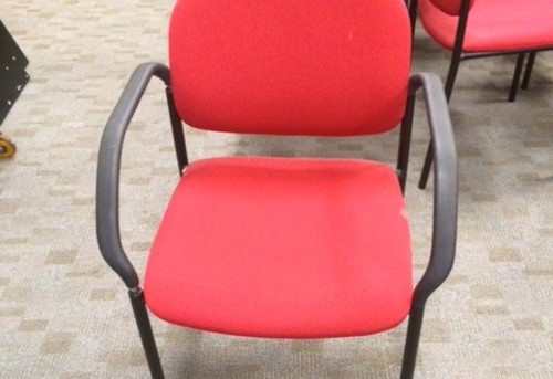 Stackable Chair - Red