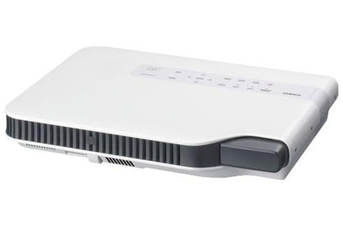 Green Slim HDMI Projector