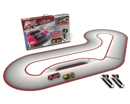 Slotless Racetrack System