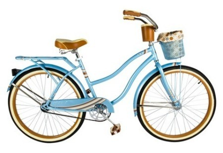 "Huffy 26"" Ladies Nassau Cruiser - Blue"