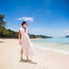 long-white-dress