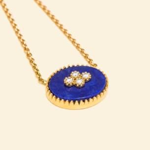La Rose des Alizes - Lapis lazuli - necklace