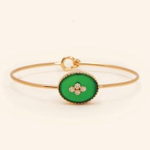 La Rose des Alizes - Agate - Bracelet