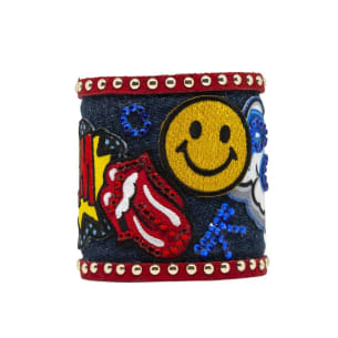 Street Art Bangles - upcycled and hand-crafted