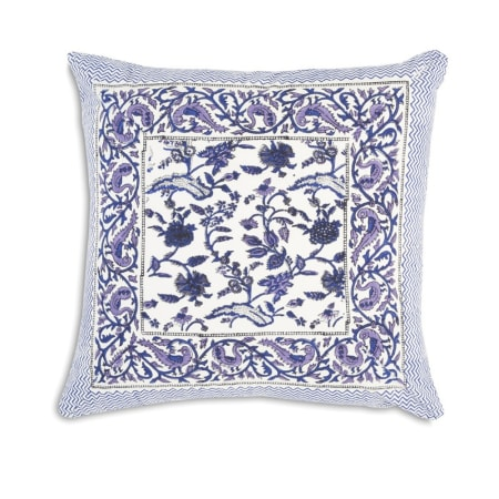 Vito - blue cushion cover