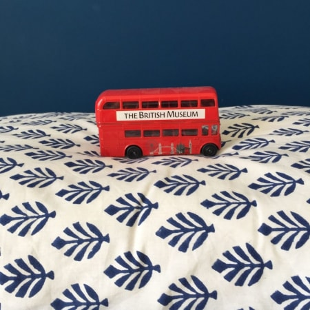 Duvet Cover BOOTI Blue