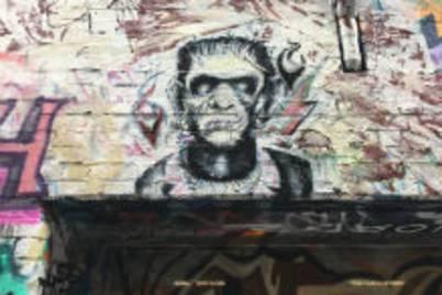 Spike street art hosier lane