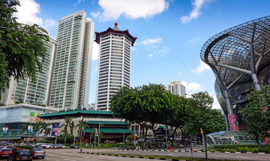 Space constraints are driving innovative building design in Singapore. Picture: Pixabay
