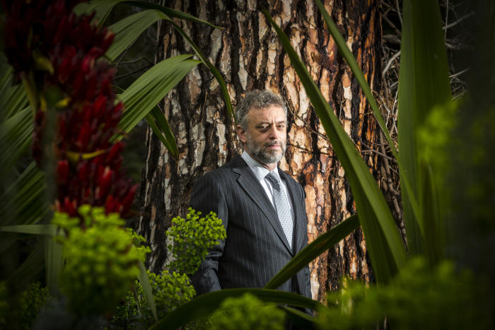 Professor David Cantrill of the Royal Botanic Gardens in Melbourne believes this new method of carbon reporting has applications for all public parklands. Picture: Craig Sillitoe
