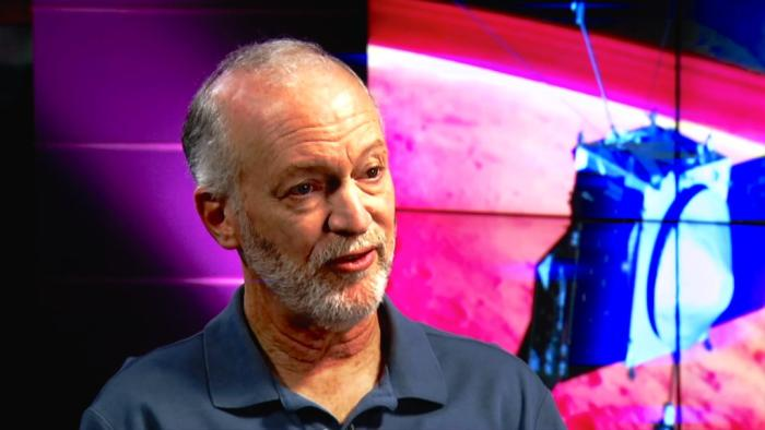 Bruce Jakosky is the principal investigator for MAVEN, Nasa's newest spacecraft which is determining how the Martian planet lost its early atmosphere. Picture: Nasa