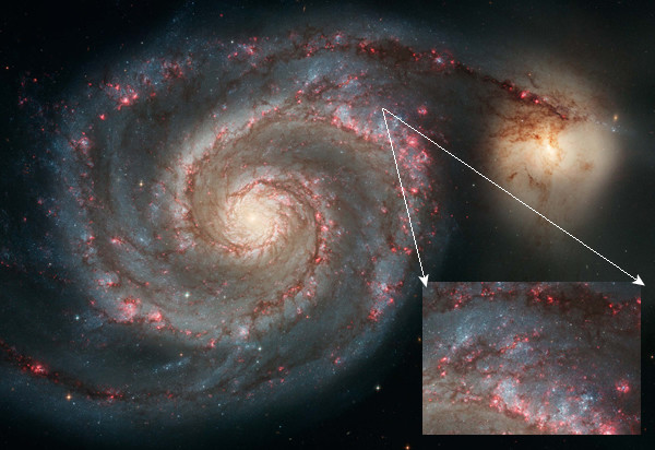 Spiral Arm Formation at Redshift 2