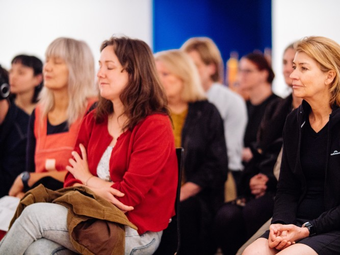 Mindfulness in the Gallery