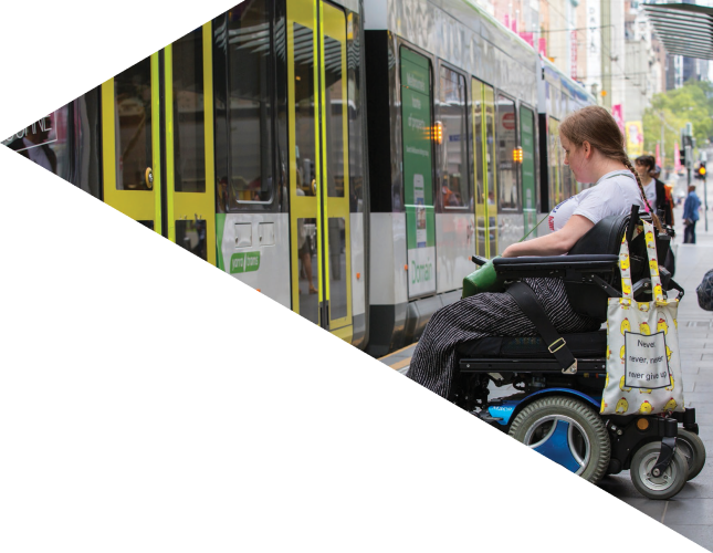 NOTHING ABOUT US WITHOUT US: Making Melbourne more inclusive for people with disability