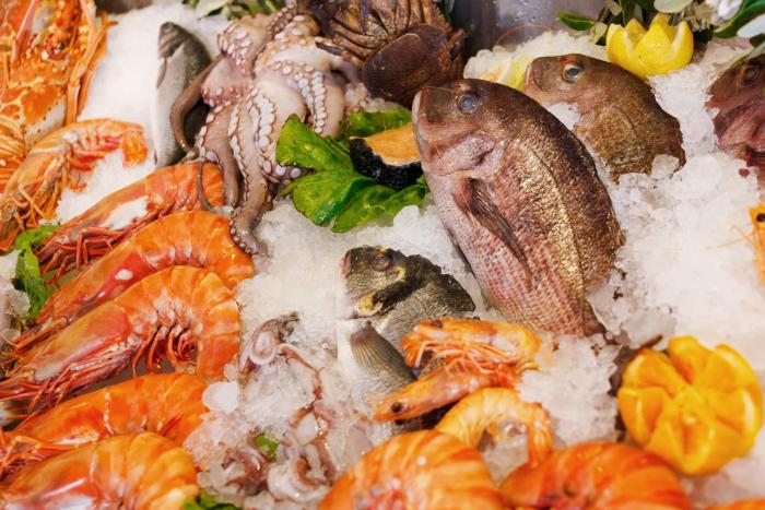 Choosing seafood over beef or lamb can reduce your nitrogen footprint. Picture: Public domain