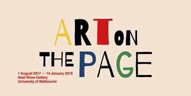 Art on the Page: Curator's Floor Talk